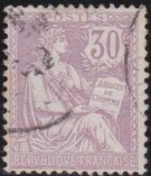 France  .   Yvert   .     128       .        O          .        Oblitéré - Usati
