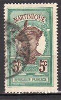 Martinique Yvert N° 64 Oblitéré Martiniquaise Lot 8-38 - Martinica (1886-1947)
