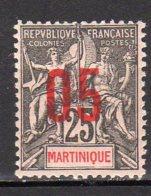 Martinique Yvert N° 79 Neuf Avec Charnière Lot 8-41 - Martinica (1886-1947)