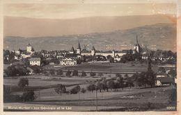 Morat-Murten Vue Générale Et Le Lac - 1935 - FR Fribourg