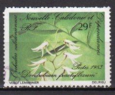 Nouvelle-Calédonie Yvert N° 468 Oblitéré Orchidées Lot 9-3 - Nueva Caledonia