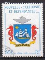 Nouvelle-Calédonie Yvert N° 486 Oblitéré Blason Lot 9-5 - Nueva Caledonia