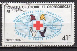 Nouvelle-Calédonie Yvert N° 501 Oblitéré Croix Rouge Lot 9-8 - Nueva Caledonia
