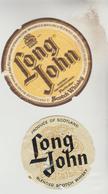 3 ETIQUETTES OENOPHILIE PUBLICITE VIN ALCOOL - Whisky LONG JOHN, GLENFIDDISCH, Apéritif VIN LORRAIN De M. SOULA Pharmaci - Whisky