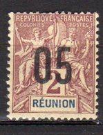 Réunion Yvert N° 72 Neuf Avec Charnière Lot 9-58 - Neufs