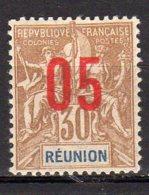 Réunion Yvert N° 76 Neuf Avec Charnière Lot 9-60 - Neufs