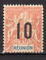 Réunion Yvert N° 77 Neuf Avec Charnière Lot 9-61 - Neufs