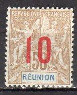 Réunion Yvert N° 78 Neuf Avec Charnière Lot 9-62 - Neufs