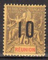Réunion Yvert N° 79 Neuf Avec Charnière Lot 9-63 - Neufs