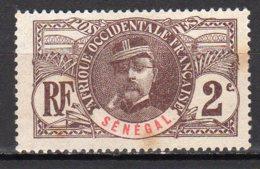 Sénégal Yvert N° 31 Neuf Sans Gomme Point De Rouille Lot 10-60 - Senegal (1887-1944)