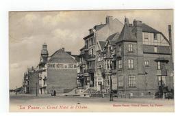 De Panne La Panne - Grand Hôtel De L'Océan - De Panne