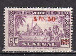 Sénégal Yvert N° 193 Neuf Avec Charnière Lot 10-101 - Senegal (1887-1944)
