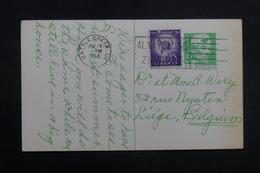 ETATS UNIS - Entier Postal Commercial De Battle Creek Pour La Belgique En 1968 - L 40215 - 1961-80