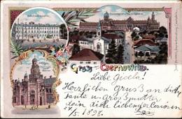 ! Schöne Litho Ansichtskarte Gruss Aus Czernowitz, 1898, Botosani - Ukraine