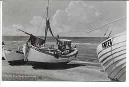 Fishing Boats On Beach. The Northsea Denmark.  S- 65 - Fishing Boats