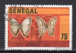 Sénégal Yvert N° 568 Oblitéré Papillons  10-163 - Sénégal (1960-...)