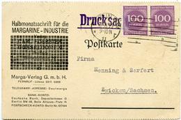 (Lo3535) Werbekarte DR St. Berlin N. Zwickau - Allemagne