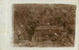 MONCHY LE PREUX CARTE PHOTO ALLEMANDE 1915 - France