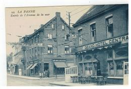 De Panne 113. LA PANNE Entrée De L'Avenue De La Mer - De Panne