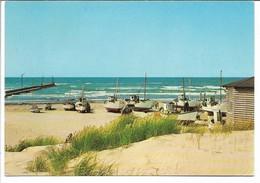 Fishing Boats On Beach. The Northsea Denmark.  A-3034 - Fishing Boats