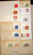 USA 12 Used Covers With First Day Cancels - Covers & Documents