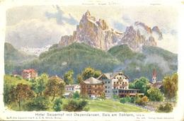 Reisch Seis Am Schler Hotel Seiserhof Mit Dependancen - Italia