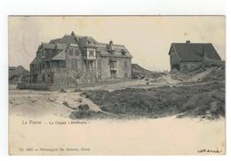"""De Panne  La Panne  -  Le Châlet """"Bienvenu"""" N°1655 = Héliotypie De Graeve,Gand - De Panne"""