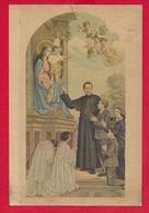 CARTOLINA VG ITALIA - Quadro Dell'altare Di S. Giovanni Bosco Nella Basilica Maria Ausiliatrice TORINO - 10 X 15 - 1952 - Santi