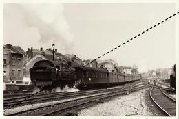 Photo SNCB NMBS Chemins De Fer Belges Train Locomotive Type 98 Par B Dedoncker ARBAC - Treni