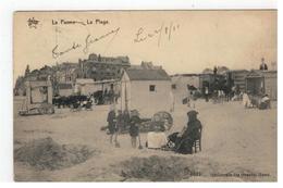 De Panne  La Panne  -  La Plage  STAR 1621 Héliotypie De Graeve,Gand - De Panne