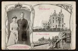 Postcard / CPA / ROYALTY / Belgique / België / Reine Elisabeth / Koningin Elisabeth / Villa Osterrieth / Oostende - Oostende