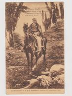 Vittorio Emanuele II° Alla Battaglia Di S. Martino (BS) E Versi Di Carducci - F.p. - Anno 1915 - Personnages