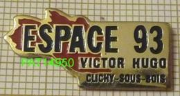 ESPACE 93 VICTOR HUGO à CLICHY Sous BOIS  SALLE De SPECTACLE - Steden