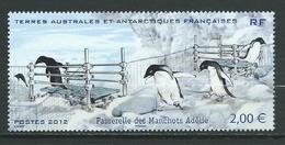 TAAF 2012 . N° 638 . Neuf  ** (MNH) - Französische Süd- Und Antarktisgebiete (TAAF)