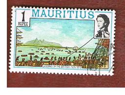 MAURITIUS -  SG 539   -  1978  HISTORICAL EVENTS: LANDING OF THE BRITISH  -  USED° - Mauritius (1968-...)