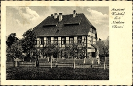 Cp Westerhof Kalefeld In Niedersachsen, Blick Auf Das Forstamt, Fachwerkhaus - Germany
