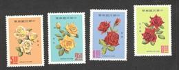 TAIWAN1969:ROSES Michel742-5mnh** - 1945-... Republik China