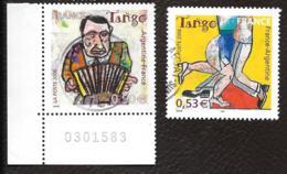TIMBRES  FRANCE ..OBLITERATION RONDE...2006...MUSIQUE ET DANSE..N°3932/3933.. TBE - France