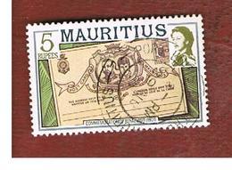 MAURITIUS -  SG 545   -  1978  HISTORICAL EVENTS: ROYAL VISIT  -  USED° - Mauritius (1968-...)