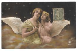 CPA...ENFANT...ARTISTIQUE..LA BEAUTEE DES ANGES..  TBE..1917..  SCAN - Portraits