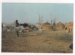Nuer Cattle Camp , Neuve - Sudán