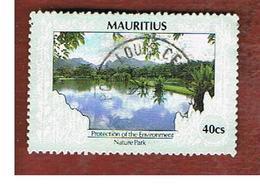 MAURITIUS -  SG 801   -  1989  NATURE PARK -  USED° - Mauritius (1968-...)