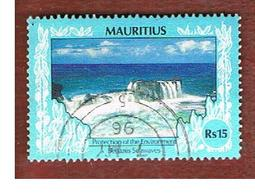 MAURITIUS -  SG 806a   -  1991  BENARES WAVES   -  USED° - Mauritius (1968-...)