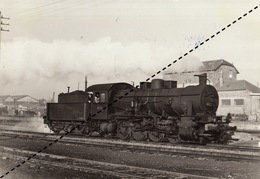 Photo SNCB NMBS Chemins De Fer Belges Train Locomotive à Bastogne Par R Temmerman - Trains