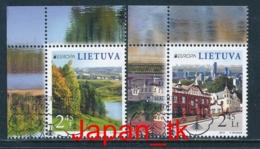 LITAUEN Mi. Nr. 1103-1104 - Europa Cept - Besuche - 2012 - Used - Europa-CEPT