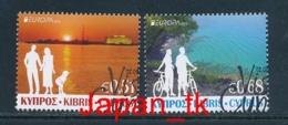 ZYPERN Mi. Nr. 1237-1238 A  - Europa Cept - Besuche - 2012 - Used - Europa-CEPT