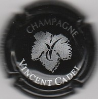 CAPSULE  MUSELET . CHAMPAGNE . VINCENT CADEL. VAUCIENNES  LA CHAUSSEE - Other