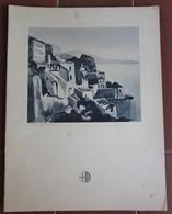 MENU ITALIA ITALIA LLOYD TRIESTINO ADRIATICA TIRRENIA MOTONAVE NEPTUNIA ANNO 1939 NAPOLI RIVERA DI SORRENTO - Menu