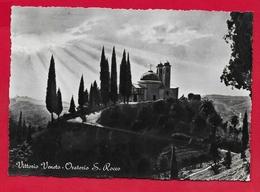 CARTOLINA VG ITALIA - VITTORIO VENETO (TV) - Oratorio S. Rocco - 10 X 15 - 1958 LOURDES - Treviso