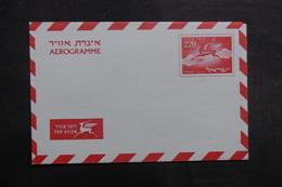 ISRAËL - Aérogramme Non Circulé - L 40244 - Briefe U. Dokumente